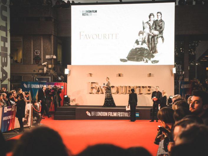The Favourite – BFI London Premiere