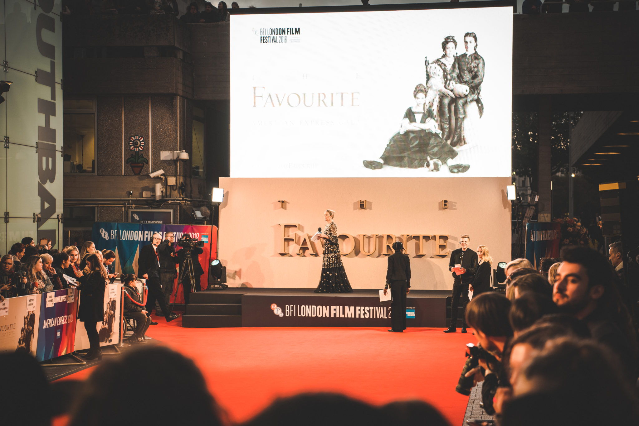 The Favourite – BFI London Premiere